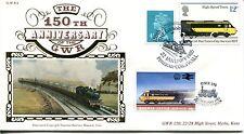 Benham Railway Cover 1985 GWR04A Cornish Riviera, Paddington Station