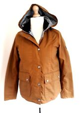 "LADIES BARBOUR ""GODREVY  BUCKTHORN BROWN WAX JACKET COAT BNWT UK 10 RRP £214"