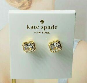 Kate Spade Golden crystal earrings