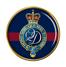 Queen's Division, British Army Pin Badge