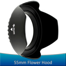 55MM Petal Flower Lens Hood for Sony Alpha Nex 18-55mm A55 A65 A35 A77