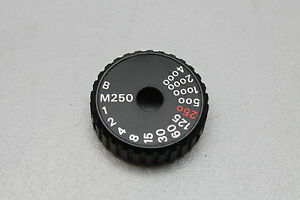 NIKON FA SHUTTER SPEED DIAL SELECTOR (other parts available-please ask)
