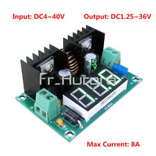 DC 4-40V to 1.25-36V Step Down PWM 8A Regulator Power Digital Display XL4016E1