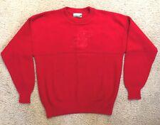 KANSAS UNIVERSITY JAYHAWKS Red Sweater - Size Men's M  (5329)