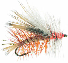 6 flies Fly Fishing Flies Bass, Bream, Trout, Crappie Aquatic Earthworm