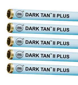 Tanning Bulbs Wolff System Dark Tan II Plus F71T12 100W Bipin Tanning Lamps