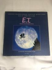 :) E.T. STORYBOOK ALBUM SPECIAL EDITION NARRATED BY MICHAEL JACKSON FREE SHIP