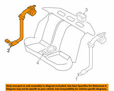NISSAN OEM 13-18 Altima Restraint System-Center Belt Assembly 888439HS8A