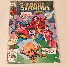 Dr. Strange #46 Behold The Strange Bedfellows The Most Magical Team-Up Marvel