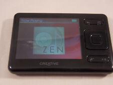 Creative ZEN Classic Media Player MP3 FM Radio Video Player 4GB SD Slot