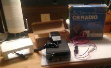 Vintage Cobra CB Radio 19 Plus- unused, 4- Channel/ MINT.