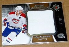 MAX PACIORETTY 2015-16 ULTIMATE JUMBO MATERIALS GAME USED JERSEY/40 ~ MONTREAL