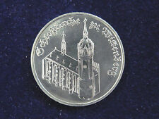 DDR.  5 Mark, 1983 A, Schloßkirche zu Wittenberg, Cu/Ni/Zn.! orig.! St.!