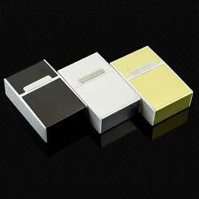 Boîte Cigares Boitier Porte Cigarette Coffret Etui Aluminium Stockage Tabac Neu
