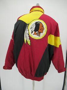 L8720 VTG Apex Washington Redskins Logo NFL Team Windbreaker Jacket
