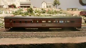 Athearn Vintage HO Pennsylvania RR Streamlined Diner, Upgraded, Exc.