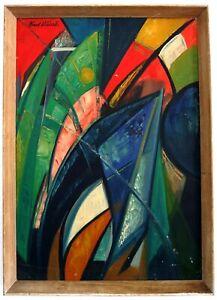 Abstrakte Komposition, Farbkraft,  Mitte 20.Jh