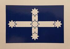 Eureka Flag Sticker - Medium - 100 x 66mm.