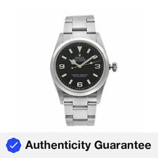 Rolex Explorer 36mm Stainless Steel Black Dial Automatic Mens Watch 114270