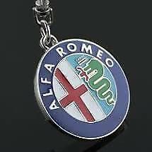 Alfa Romeo Keychain Us Seller (blue)