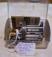 BEAUTIFUL VINTAGE SOUTH BEND 450 REEL REEL 6/1/21P  BOX  PAPERS TOUGH FIND