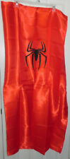 Spider-man Adult Satin Cape w/Mask Red Halloween Costume Party Dress-Up