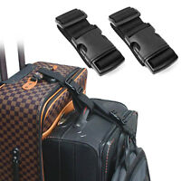 Add a Bag Luggage Strap 1/2/4Pcs Durable Adjustable Cross Luggage Straps