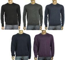 Regular Size Crewneck 100% Wool XL Sweaters for Men