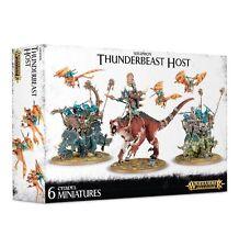 WARHAMMER AGE OF SIGMAR - Lizardmen Seraphon Thunderbeast Host - NEW/BOX