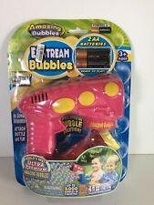 Amazing Bubbles Mini Exstream Bubble Gun - 4pc Pink