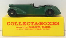 Vintage Dinky 38D - Alvis Sports Tourer - Green In Collecta Box