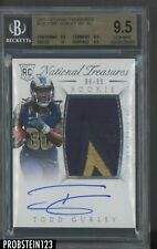 2015 National Treasures #128 Todd Gurley RPA RC Rookie Patch AUTO /99 BGS 9.5