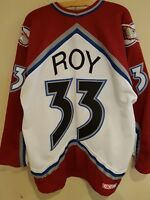 Colorado Avalanche Vintage Hockey Jersey | (Patrick) Roy #33 | CCM XL