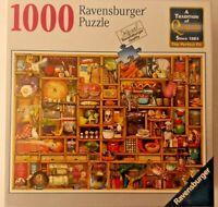 Ravensburger Puzzle Kitchen Cupboard 1000  Finest German Quality New In Box BIN!