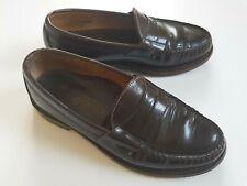 Used Sebago leather loafer,brown burgundy,  7 UK / 41 EU