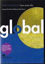 Macmillan GLOBAL Upper-Intermediate Class Audio CDs I Clandfield Benne @NEW@