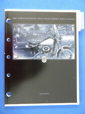 Harley Davidson 2001 DYNA POLICE Models PARTS CATALOG  99544-01