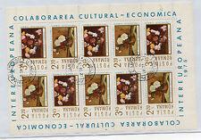 Rumania Flores serie del año 1975 (CK-775)