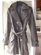 cappotto grigio + borsa benetton