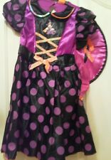 girl's fancy dress, halloween costume. Age 5-6 yrs. Bnwt