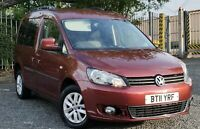 2011 Volkswagen vw Caddy Maxi Li DSG Auto 5 Seat Wheelchair Accessible Disabled