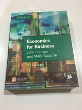 Economics for Business Second Edition Textbook