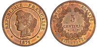 TROISIEME REPUBLIQUE 5 CENTIMES CERES 1871 A  ETAT SPLENDIDE