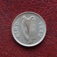 Ireland 1940 nickel threepence