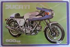 DUCATI 900 SS, Motorrad, Königswelle, BLECHSCHILD