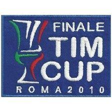 [Patch] FINALE TIM CUP ROMA 2010 cm 10x7 toppa ricamata ricamo termoadesiva -133