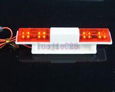 RC 1:10 Police Model Car Night Flash Red LED Light 18x108mm flashing Rotation
