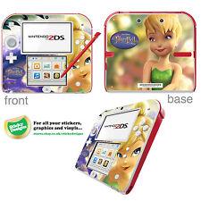Disney Tinkerbell Carcasa De Vinilo Adhesivo para Nintendo 2DS