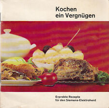 Siemens-Elektroherd: Erprobte Rezepte   1966