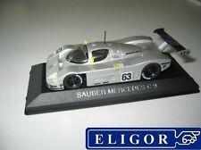 ELIGOR 1/43 SAUBER MERCEDES C9 1989  !!!!
